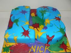 Paintball Birthday Parties   Paintball Birthday Cake Flickr Photo Sharing Picture