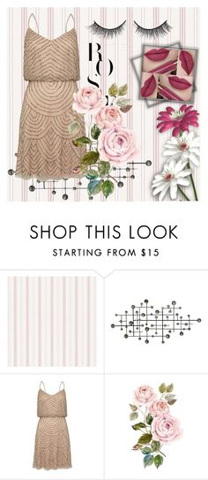 """""""Flower day"""" by sarahwuzhere on Polyvore featuring Dot & Bo, Adrianna Papell, Rimini, women's clothing, women's fashion, women, female, woman, misses and juniors"""