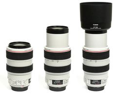 Canon EF 70-300mm f/4-5.6 USM L IS - Telephoto zoom lens