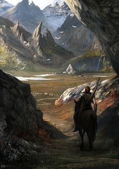 Behind The Mountains by Ninjatic.deviantart.com on @deviantART