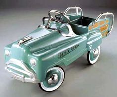 Estate Wagon Pedal Car-Vintage Green