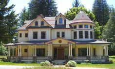 Queen Anne Victorian Style home designed by James Lloyd Design. More info here:  http://santacruzconstructionguild.us/james-lloyd-design