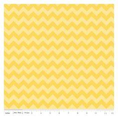 Tissu Small Chevron Yellow x 10cm