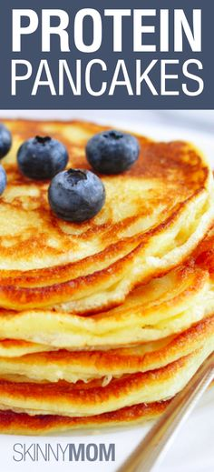 Protein Pancakes!!!!!!! These look yummy :)