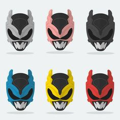 Psycho Rangers from Power Rangers in Space & Power Rangers Lost Galaxy