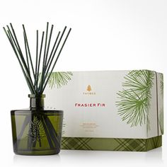 Frasier Fir Reed #Diffuser. The best diffuser out there! It will make your whole place smell like a wintery #forest wonderland and we love it! via @Thymes Fragrances