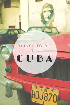A guide to the top things to do in Cuba. Cuba has its very own soul and it's so unique and peculiar like barely any other country is. #cuba #havanna #traveltips