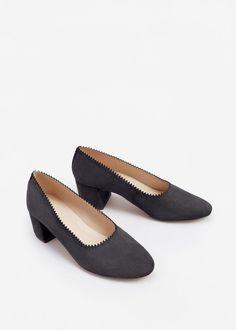 Zapato piel tacón