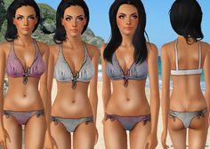Swimwear you can download it from www.shakesims.com as free!