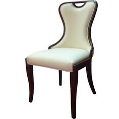 International Design USA Mithos Leather Dining Chairs - Set of 2