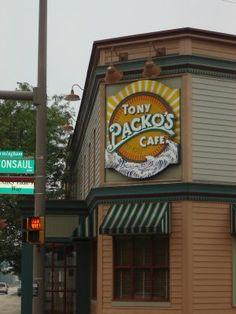 Tony Paco's Cafe in Toledo Ohio