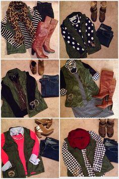 Utility vest outfit ideas