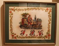 A Beautiful 19th Century Sampler ~ Tarin and Work