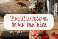 12 Unique Stocking Stuffers That Won't Break The Bank Christmas Gifts For Women, Holiday Gifts, Christmas Holidays, Christmas Stockings, Holiday Gift Guide, Holiday Fun, Holiday Ideas, Christmas Ideas, Prank Gifts