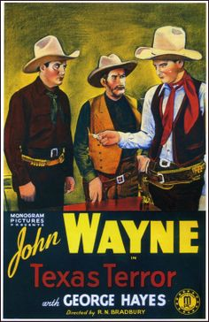 Ptak Science Books: The Emptiness of John Wayne Movie Posters