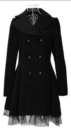 Winter dress coat