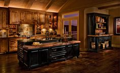 Kitchen Inspirations - Rustic - Kitchen - Denver - Longmont Lowes, Kitchens with Bob & Seth