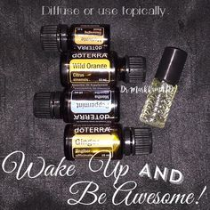 Wake Up and Be Awesome Blend - You know somebody is going to have a case of foot…