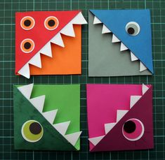 Origami for Everyone – From Beginner to Advanced – DIY Fan Origami Yoda, Origami Star Box, Origami Dragon, Origami Fish, Origami Stars, Origami Monster Bookmark, Origami Bookmark, Modular Origami, Origami Folding