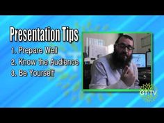 Episode 25: Public Speaking Tips for Presentations   www.GrowTime.tv