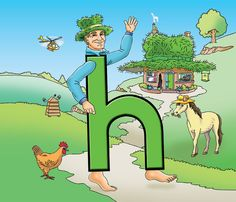 harry hatman letterland colouring pages Printable Coloring Pages, Colouring Pages, Letterland Costumes, School Costume, Grammar Activities, School Parties, Letters And Numbers, Cuban, Hats For Men
