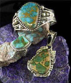 durango silver turquoise ring