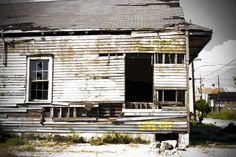 Destruction from Hurricane Katrina.   New Orleans, Louisiana