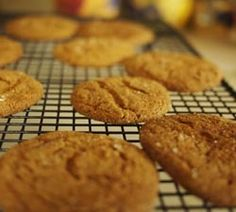 Zingy Molasses Cookies | Pinch of Sugar: Living the Sweet Life.
