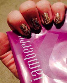 Jamberry September hostess manicure