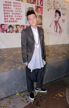 Hong Kong actor Edison Chen at a charity premier for his new movie 'Golden Chickens' in Hong Kong, China, January 19, 2014