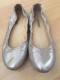 dbc083d5b36 Womens gold leather ballet shoes Paul Green sz 6.5  fashion  clothing  shoes   accessories  womensshoes  flats (ebay link)