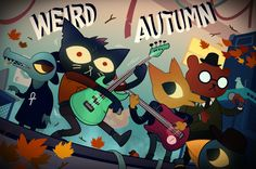 """dat-soldier: """"Weird Autumn by AngusBurgers I suck at the bass-playing minigames but Gregg rulz ok """""""