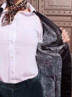 The Sumissura Experience Ruffle Blouse, Tops, Design, Women, Fashion, Moda, Fashion Styles, Fashion Illustrations