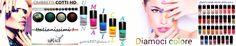 Smalti AUTOLIVELLANTI rapida asciugatura Ombretti HD alta definizione cotti 14 colori da usare asciutti o bagnati
