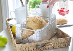 ELTEFRIE RUNDSTYKKER (VIDEO) Baking, Breakfast, Food, Morning Coffee, Bakken, Essen, Meals, Backen, Yemek