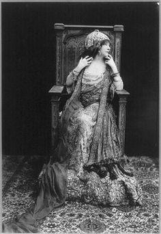 Sarah Bernhardt,c.1917by Rochlitz Studio