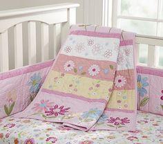 Daisy Garden Nursery Bedding #PotteryBarnKids