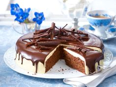 Schoko-Torte mit Quittengelee - so geht's - schoko-torte Rezept
