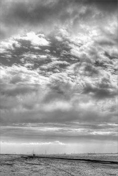 Rota, tal y como yo la veo: Mediodía nuboso en la playa