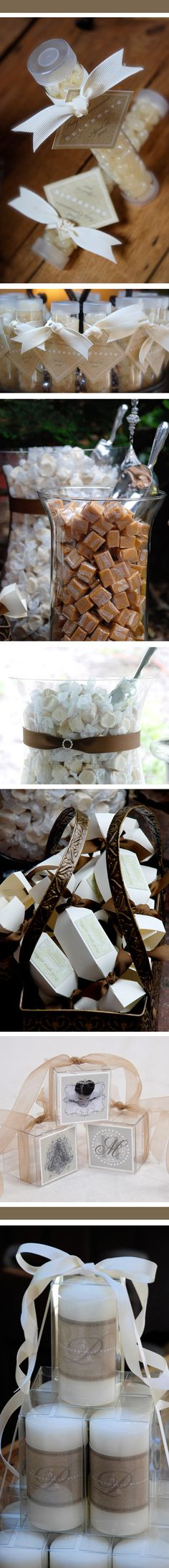 Love these for weddings or a party