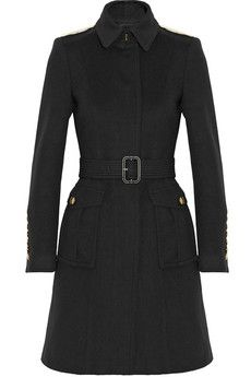Burberry London Wool and cashmere-blend coat | NET-A-PORTER