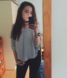 ootd Breton Top, Ruffle Blouse, Stripes, Ootd, Pocket, My Style, Blog, Beauty, Women