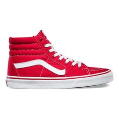 12 Best Red High Top Sneakers images   Red high top sneakers