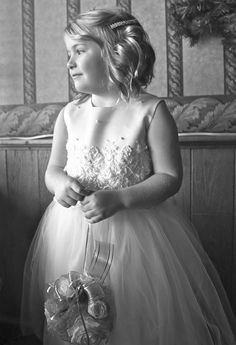 The Ivory Cinderella Tulle Flower Girl Dress is a customer favorite, and this customer picture is one of our favorites. It is absolutely stunning. Tulle Flower Girl, Ivory Flower Girl Dresses, Tulle Flowers, Girls Dresses, Satin Sash, Satin Skirt, Embroidered Lace, Lace Applique, Absolutely Stunning