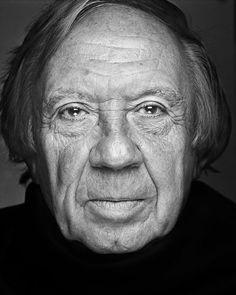 Paul de Wispelaere (1928-2016) - Flemish writer. Photo ©  Stephan Vanfleteren