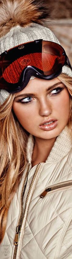 Romee Strijd for Goldbergh | LOLO❤︎