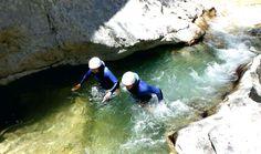 Aqua Trekking in the Gorges du Verdon with Aqua Viva Est