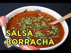 Authentic Mexican Recipes, Mexican Food Recipes, New Recipes, Cooking Recipes, Favorite Recipes, Ethnic Recipes, Salsa Borracha, Hot Salsa, Mexican Salsa