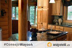 #ConsejoWayook: para limpiar la encimera de la #cocina utiliza una bayeta húmeda con unas gotas de lavavajillas.