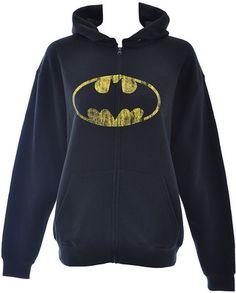 DC Comics Batman hoodie – womens hoodies – DC Comics merchandise UK